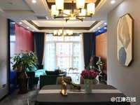 荧鸿城 全新豪装高层3室2厅2卫 户型格局无挑剔 首付35万左右就可拎包入住