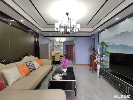 东城中央。精装四方,全新装修,中间楼层,家具家电齐全!011498
